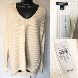 Chunky Ann Taylor Knit sweater NWT